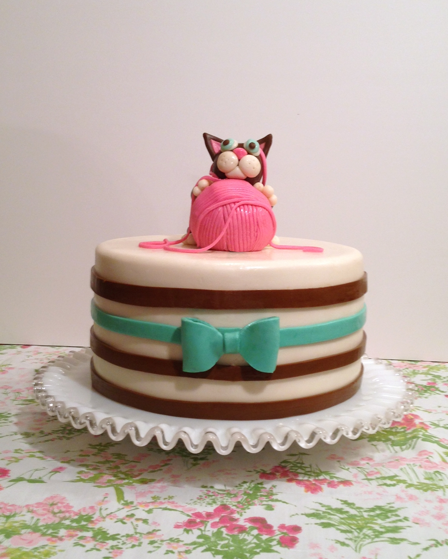Cakecentral Com: Kitten Birthday Cake