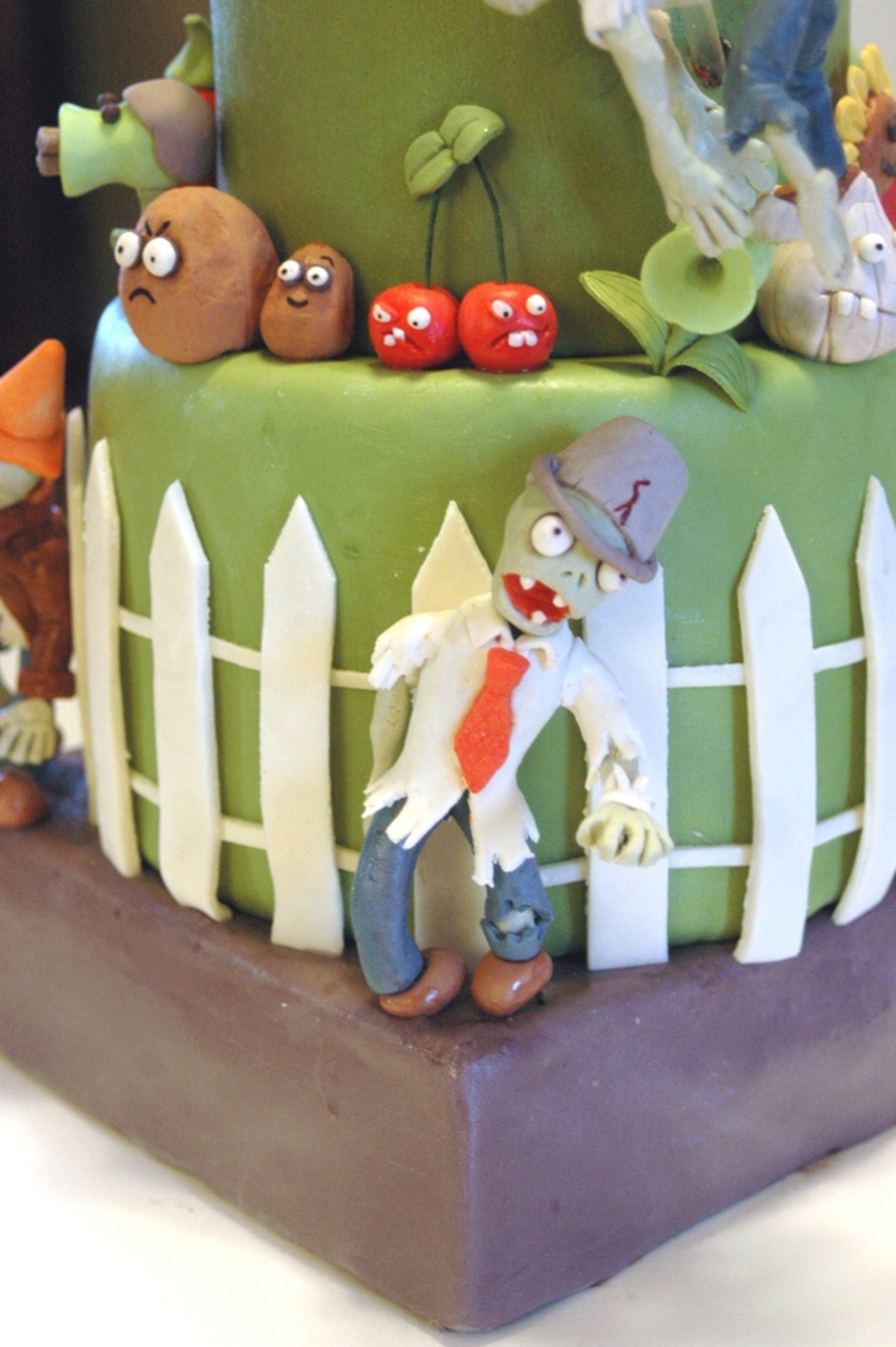 Plants Vs Zombies Birthday Cake Cakecentral Com
