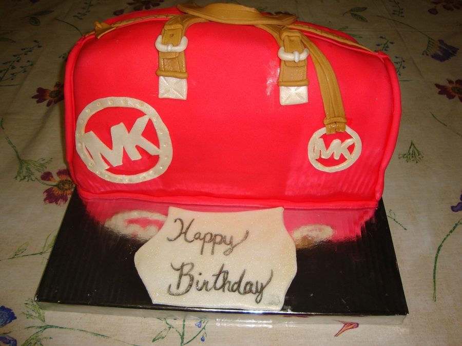 Michael Kors Bag on Cake Central