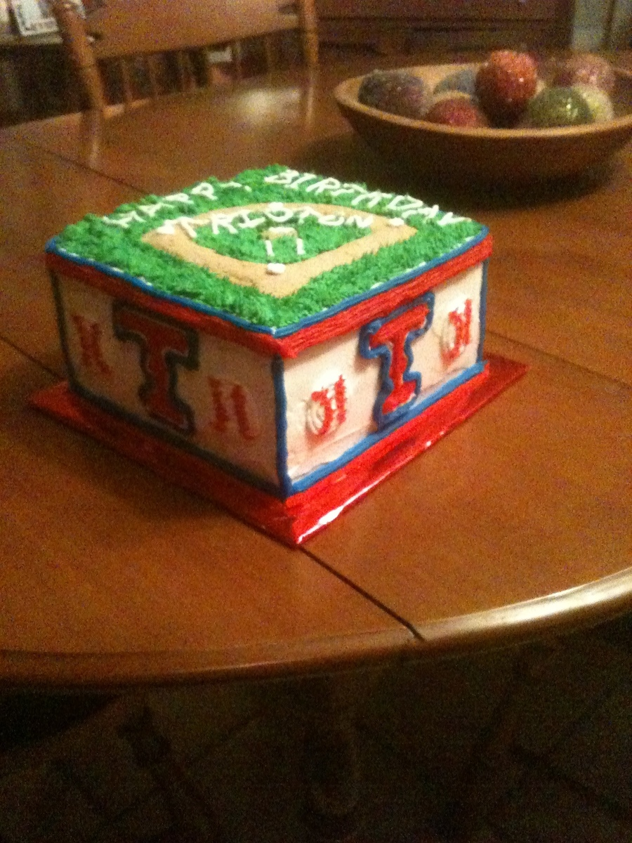 Texas Rangers Birthday  on Cake Central