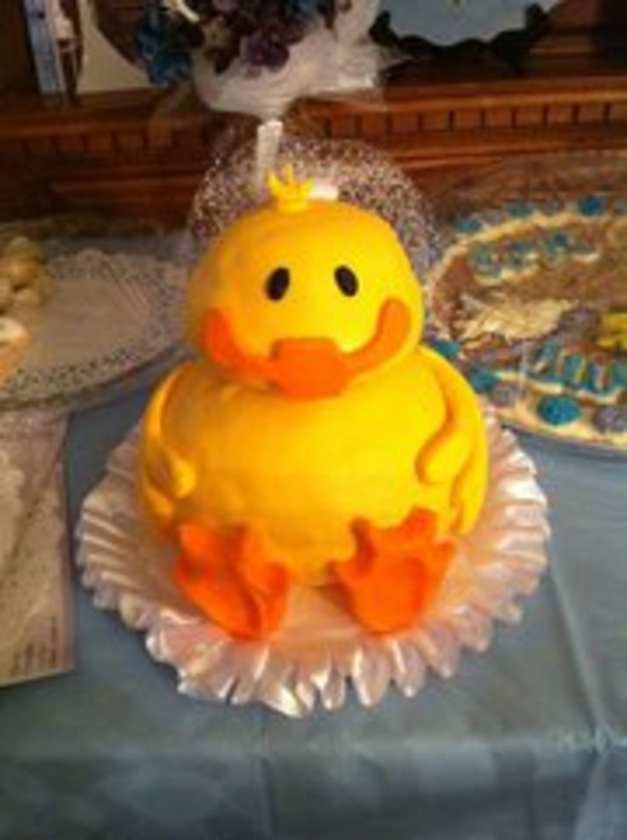 Duck Bridal Cake on Cake Central