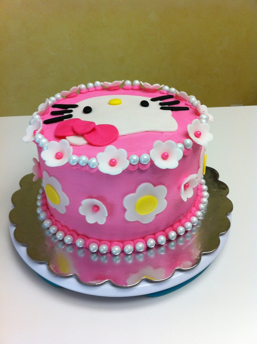 Hello Kitty 2nd Birthday Cakecentral