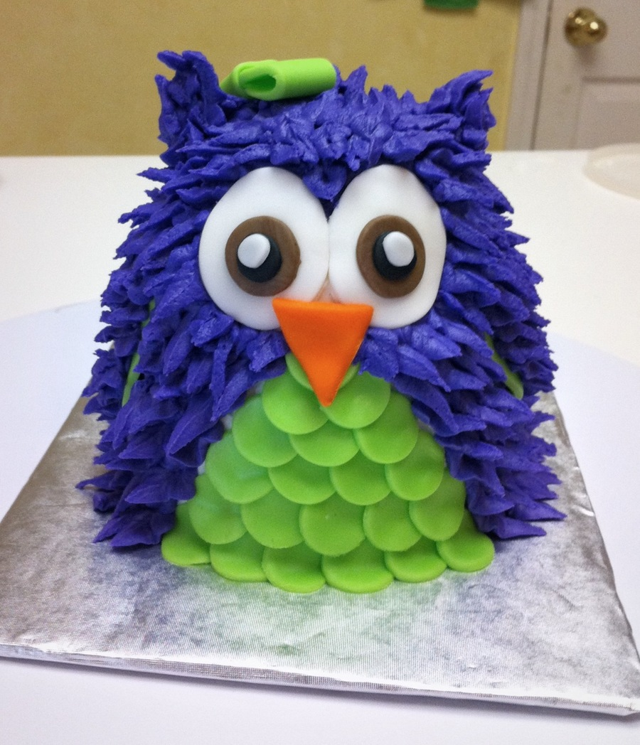 Owl Birthday Cake Images