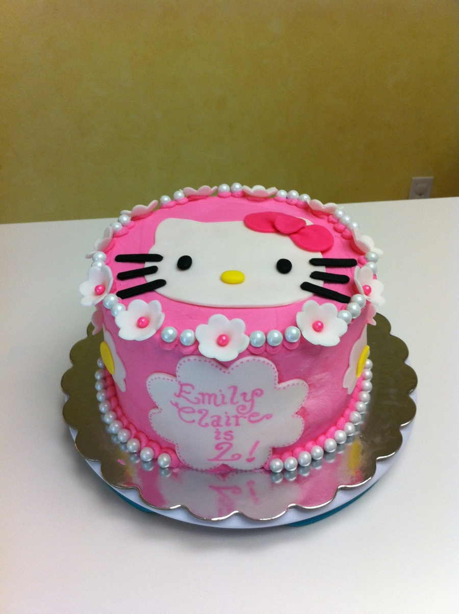 Hello Kitty 2nd Birthday Cakecentral Com