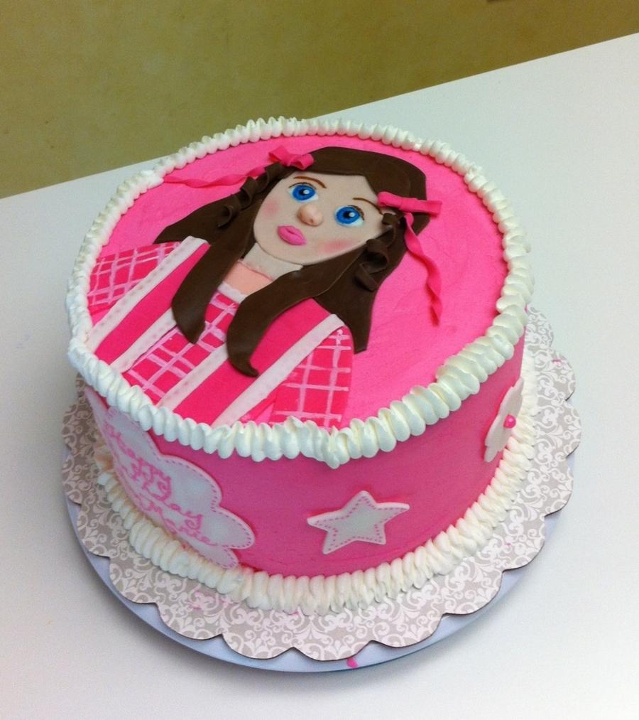 American Girl Grace Birthday Cake