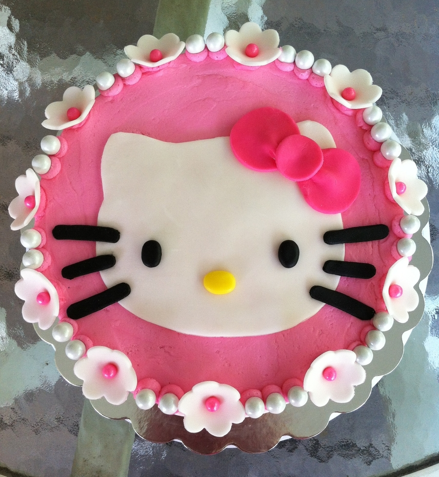 Hello Kitty Nd Birthday Cake