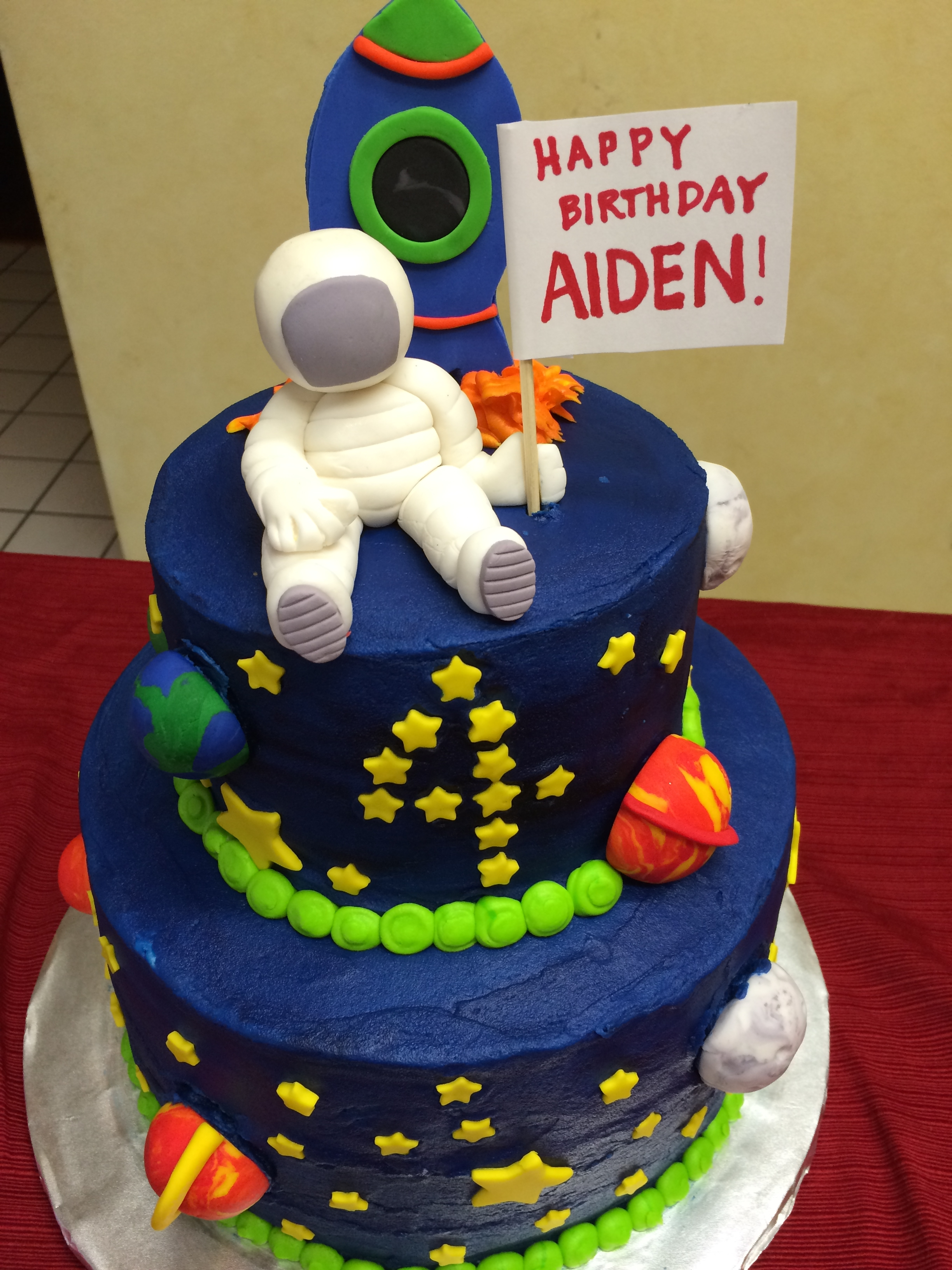 Astronaut Birthday Cake Ideas