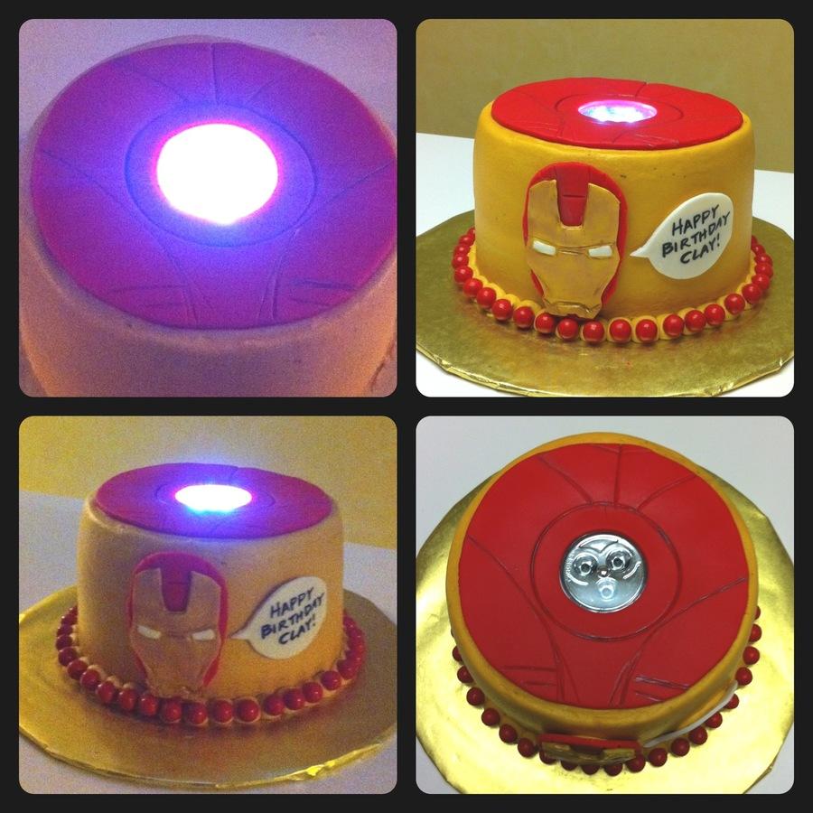 Cake Decorating Iron Man : Iron Man Cake With