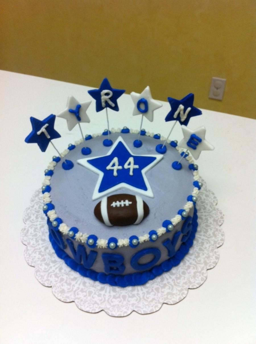 Swell Dallas Cowboys Birthday Cake Cakecentral Com Funny Birthday Cards Online Alyptdamsfinfo