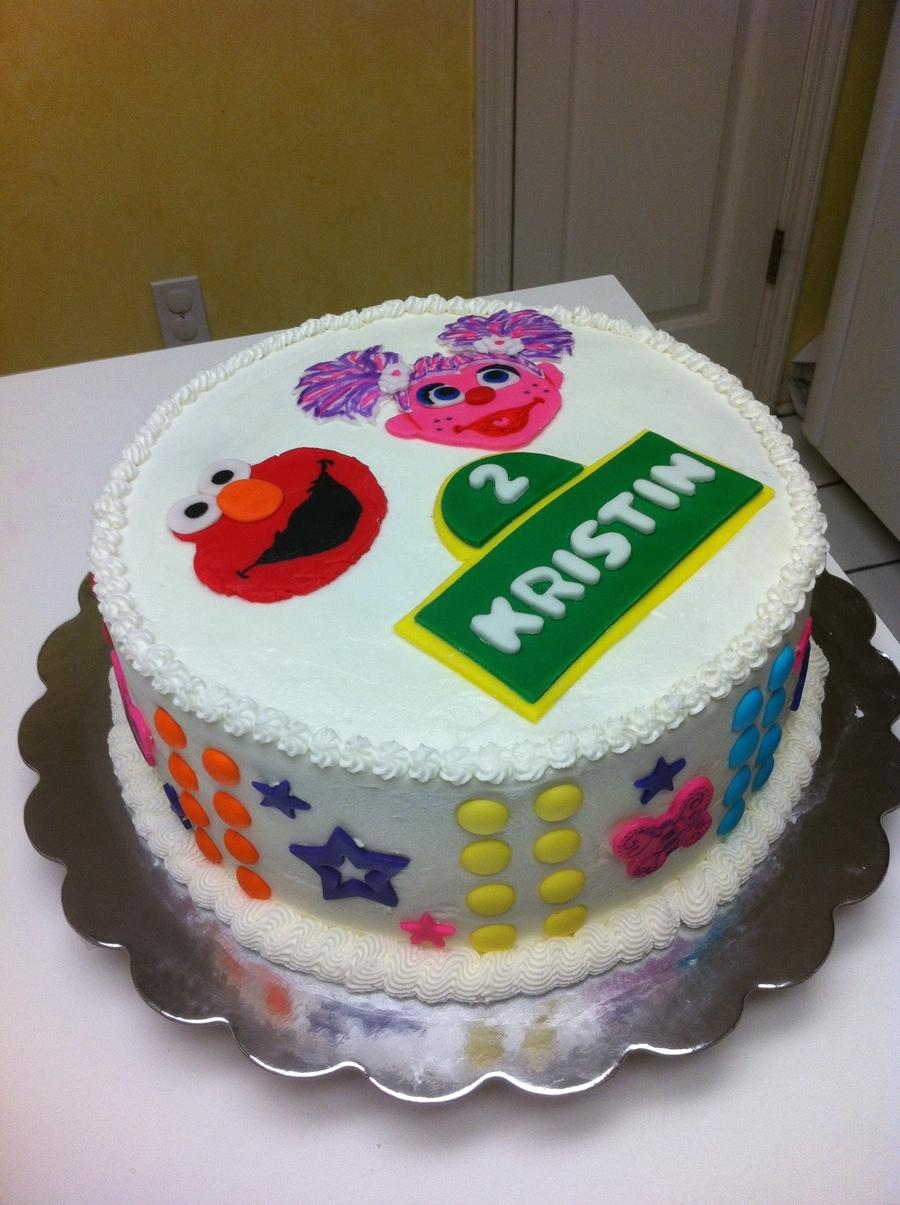 Strange Elmo And Abby Cadabby Cake Cakecentral Com Funny Birthday Cards Online Necthendildamsfinfo