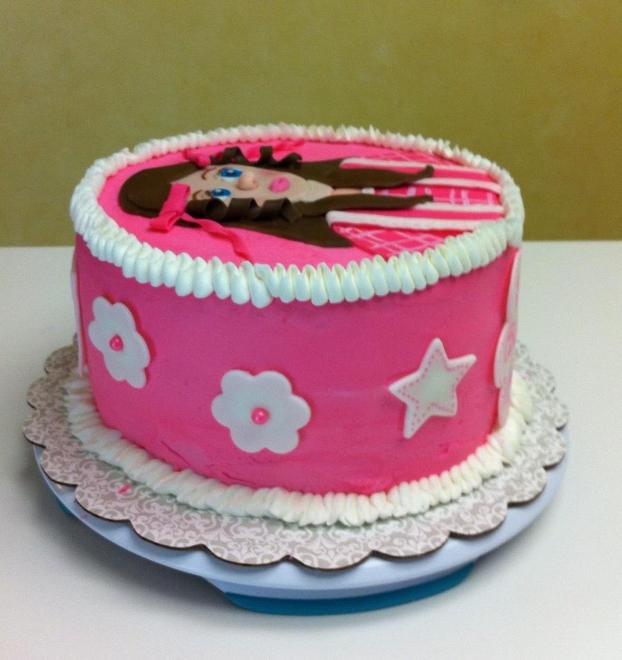 American Girl Doll Grace Birthday Cake