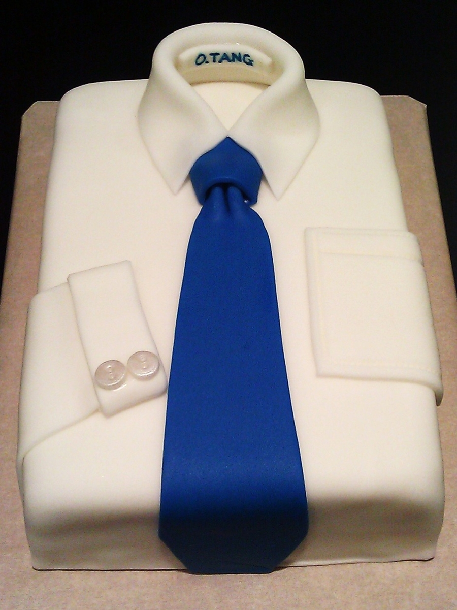 shirt and tie cake cakecentral