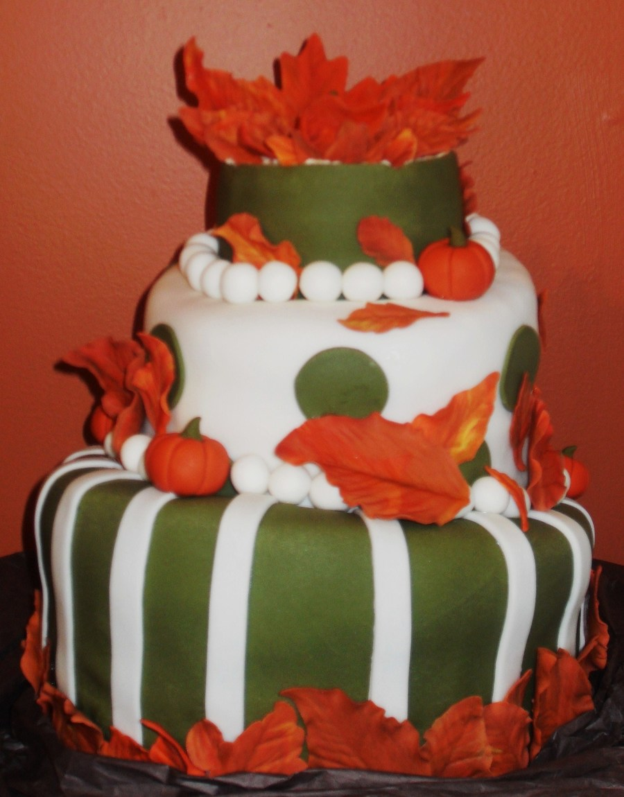Amazing Autumn Birthday Cake Cakecentral Com Funny Birthday Cards Online Unhofree Goldxyz