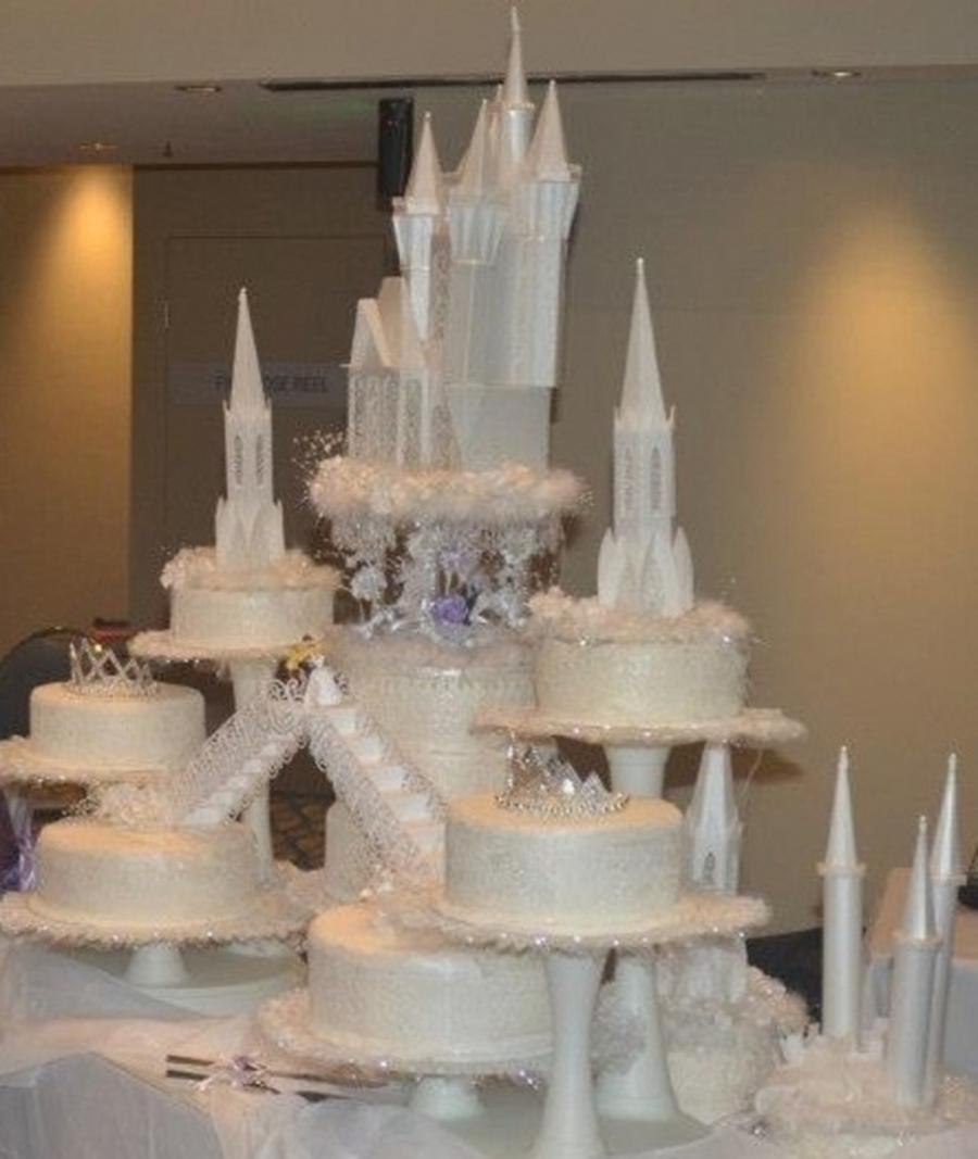 Castle Wedding Cake.Castle Wedding Cake Cakecentral Com