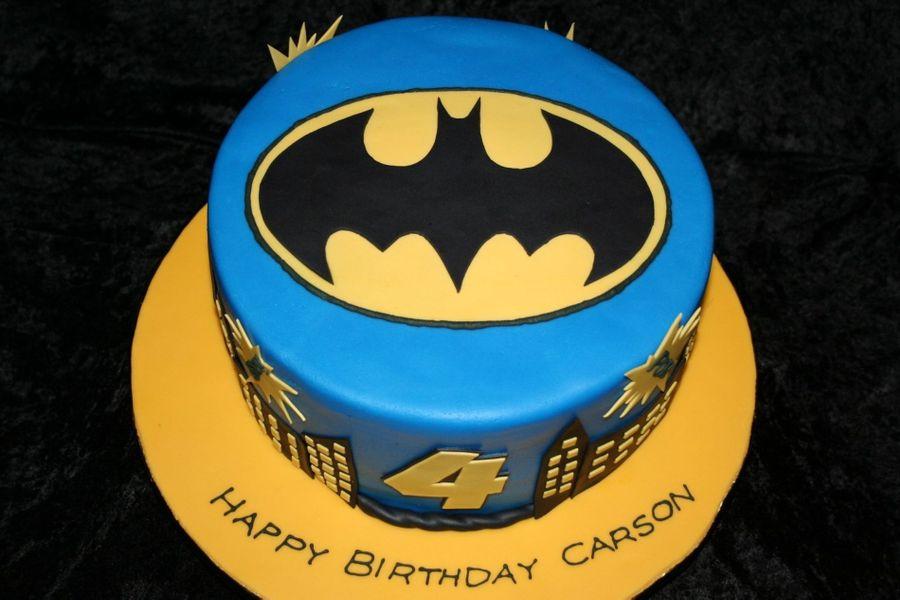 Batman Cake CakeCentralcom