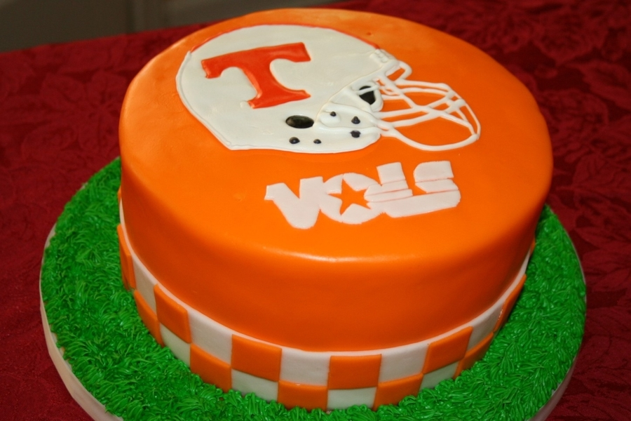 Tennessee Volunteers Cake on Cake Central