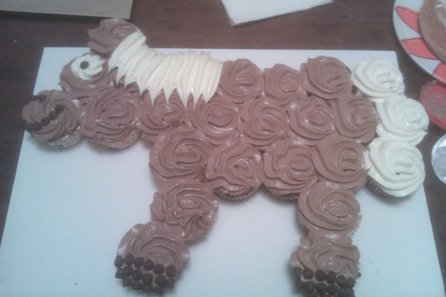 Cupcake Horse on Cake Central