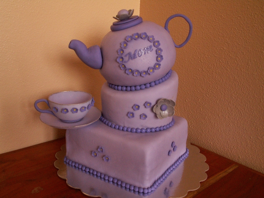 February Tea Party on Cake Central
