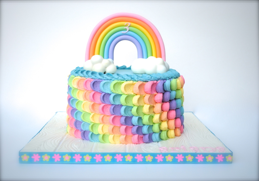 Image result for rainbow birthday cake