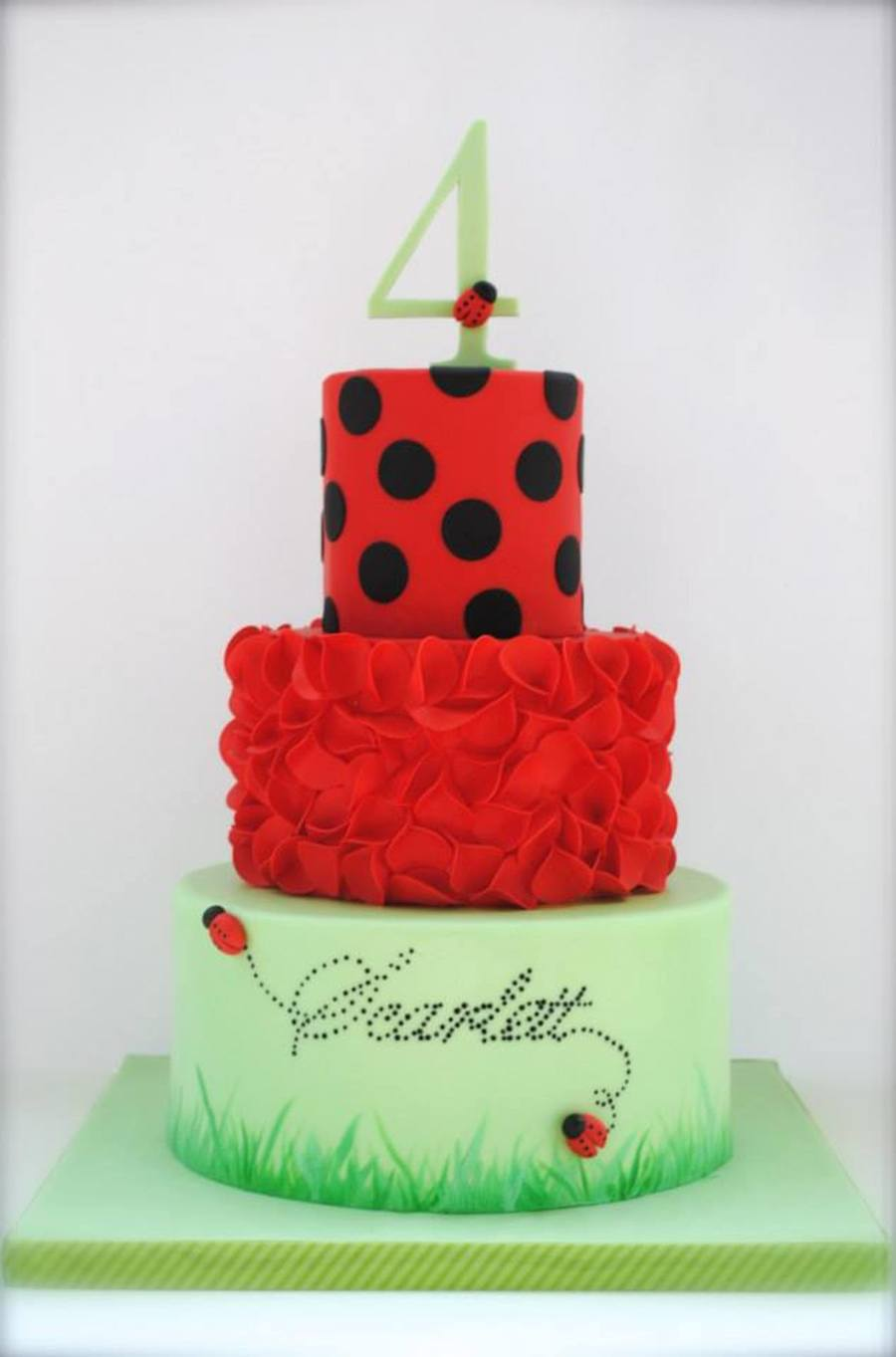 Ladybug Cake On Central