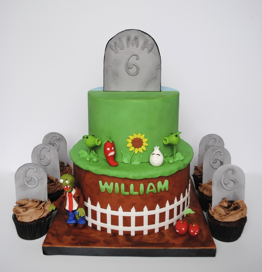 Plants Vs Zombies Cake Cakecentral