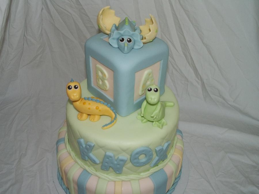 Precious Dinosaurs Baby Shower Cakecentral