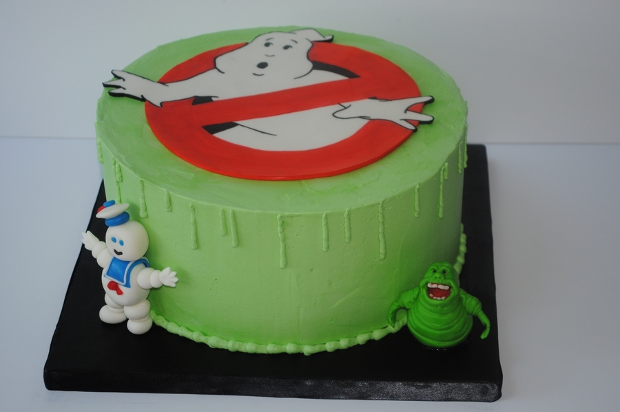 ghostbusters cake topper who ya gonna call cakecentral 4489