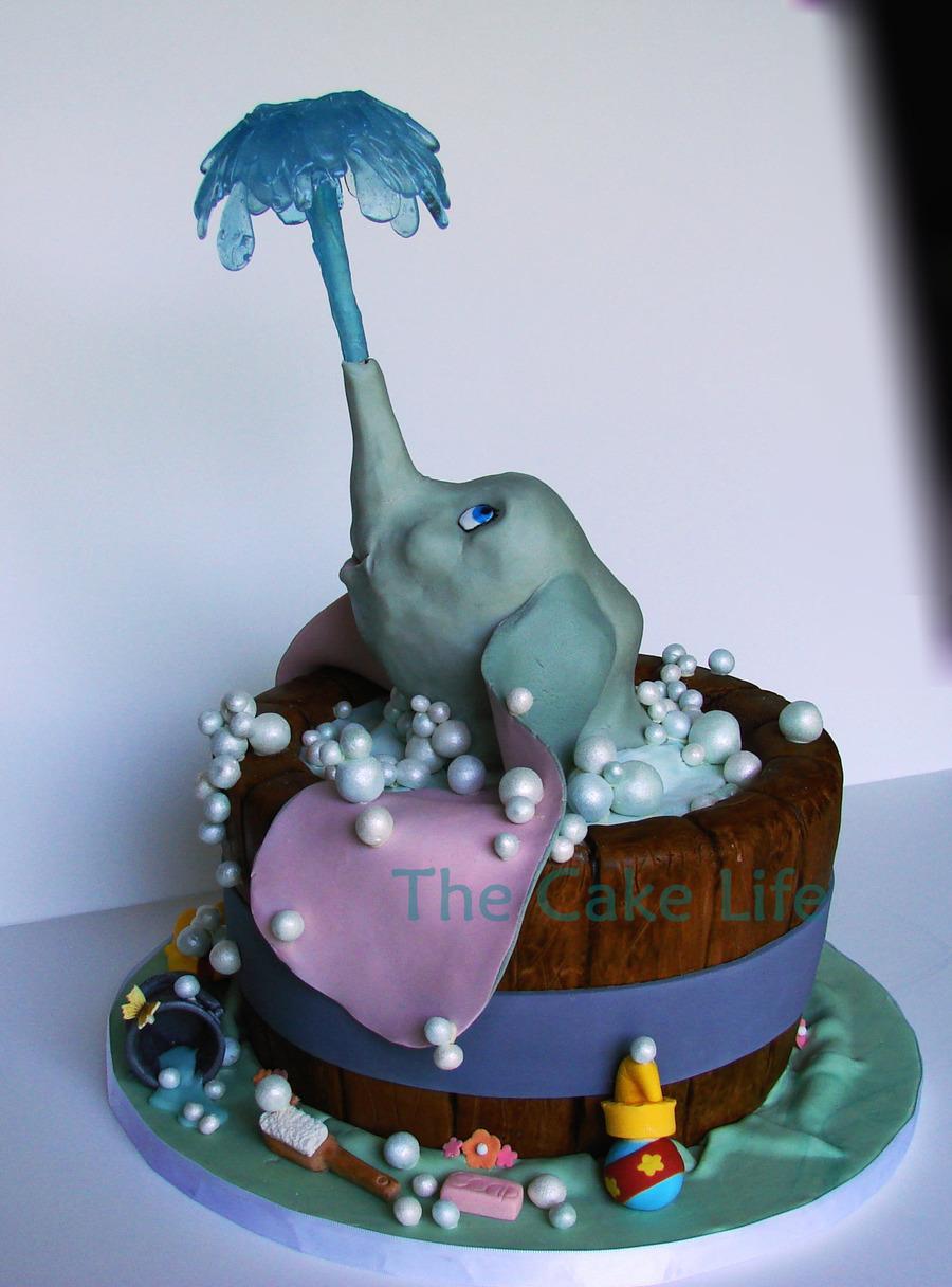 Dumbo Birthday Cake Topper