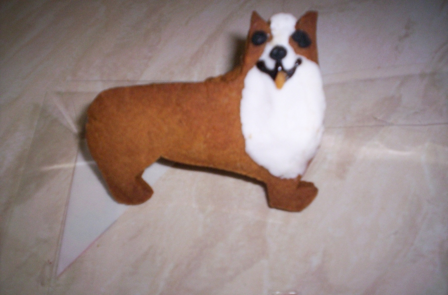 Corgi Biscuit For Queens Jubilee on Cake Central