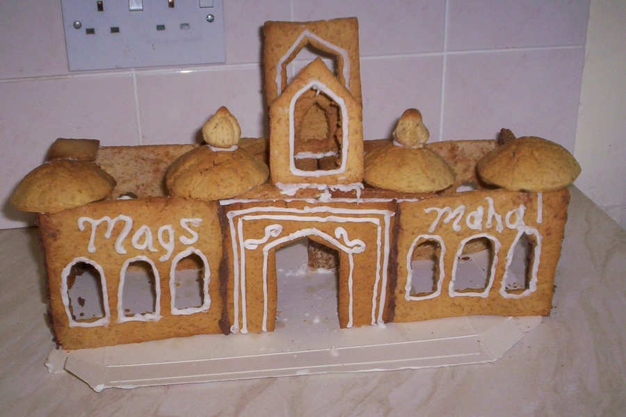 Gingerbread Oriental Palace on Cake Central