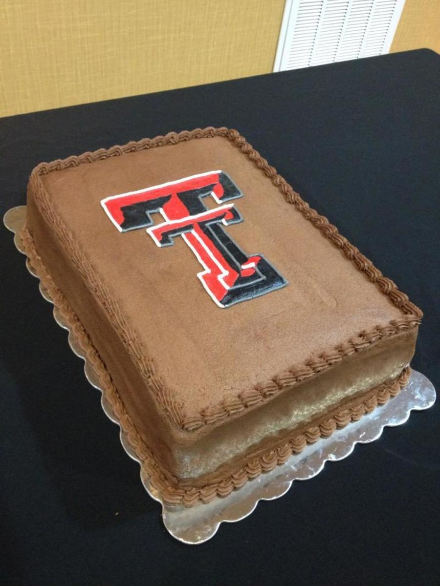 Texas Tech Grooms Cake on Cake Central