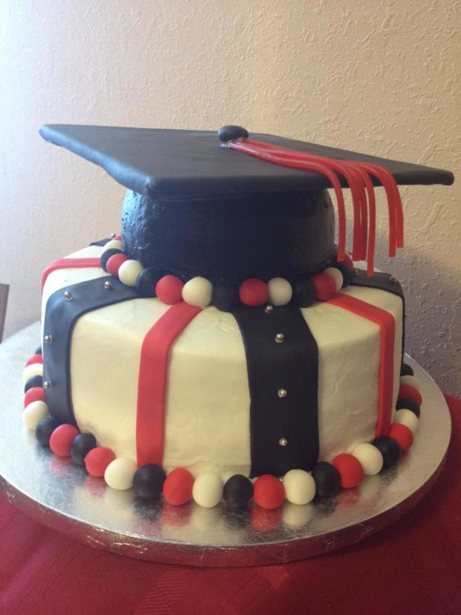 Texas Tech Graduation Cake Go Red Raiders on Cake Central