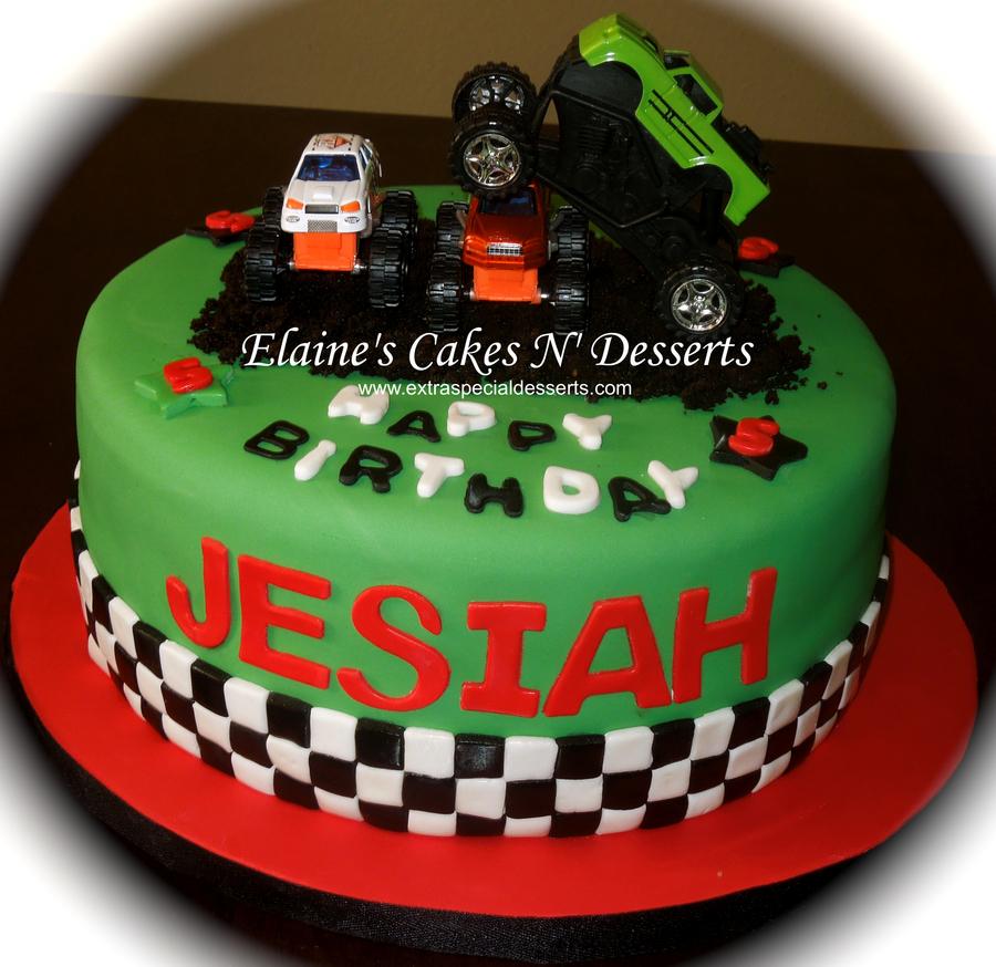 Cake Decorating Ideas Monster Trucks