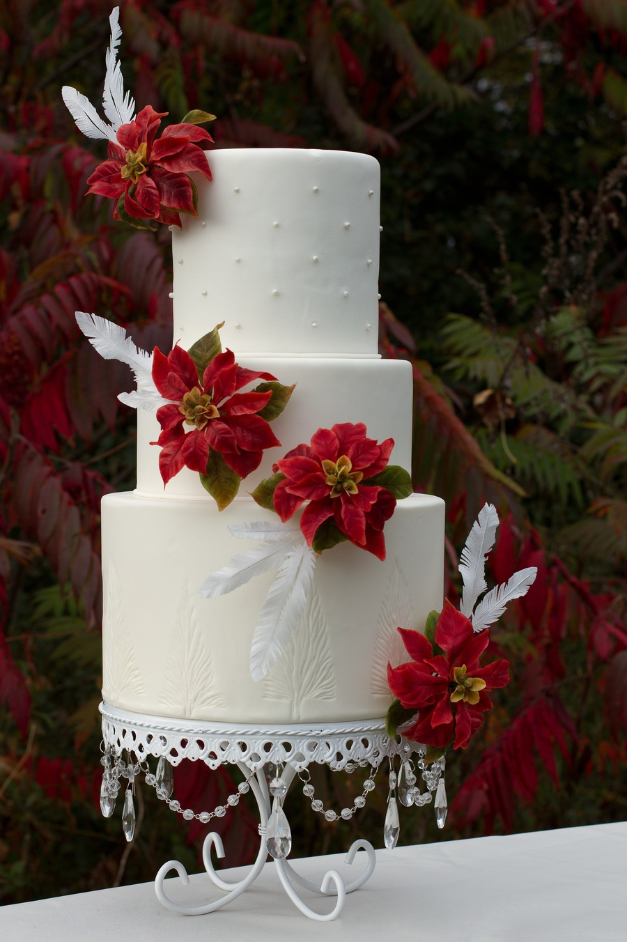 Holiday Wedding Birds 2013 on Cake Central