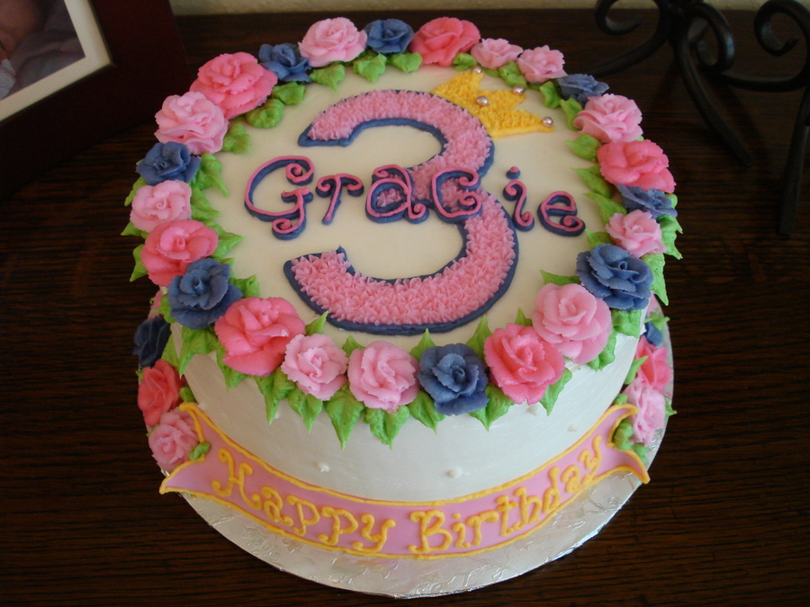 Gracies Birthday Cake on Cake Central