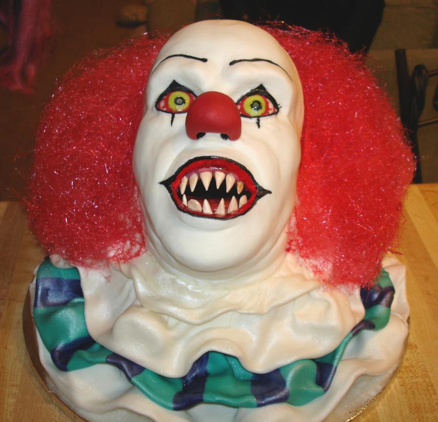 Halloween Clown Cake Recipe
