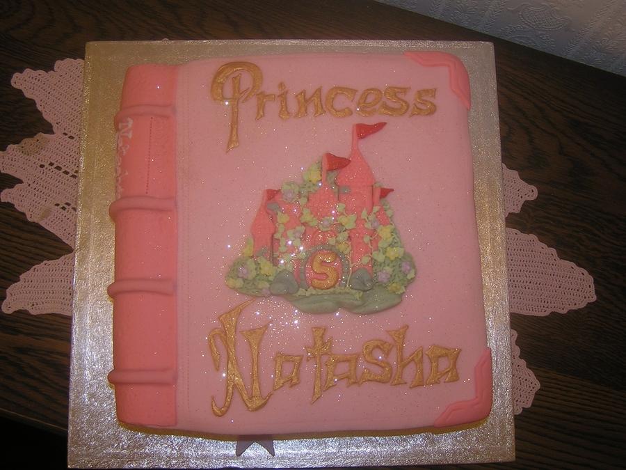 Superb Girls Fairytale Birthday Book Cakecentral Com Personalised Birthday Cards Xaembasilily Jamesorg