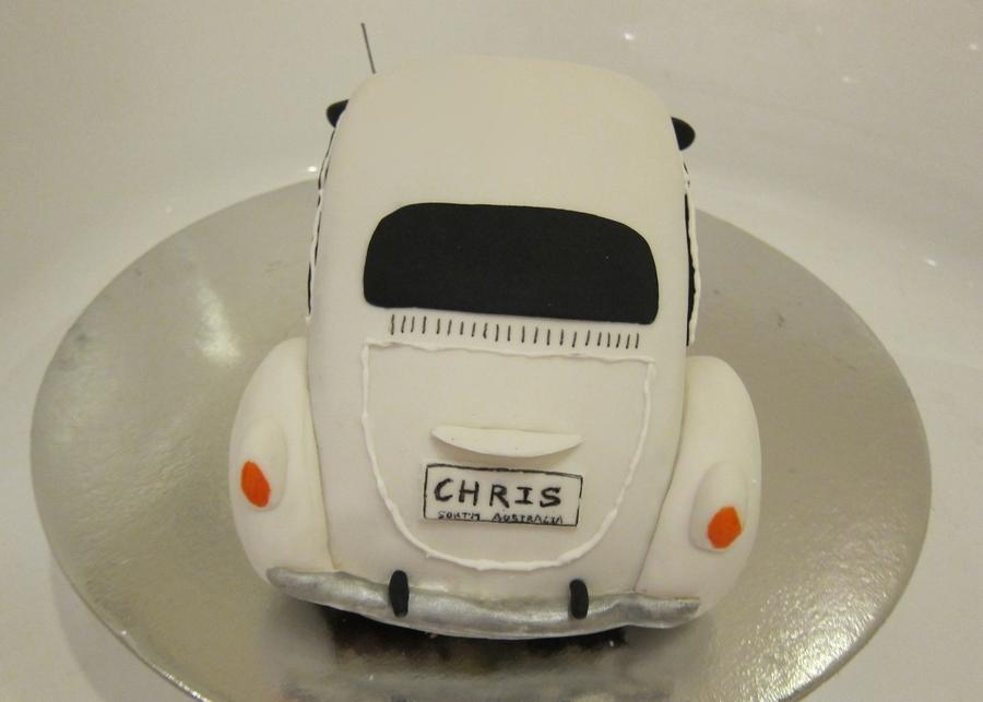 How To Make A Vw Beetle Cake