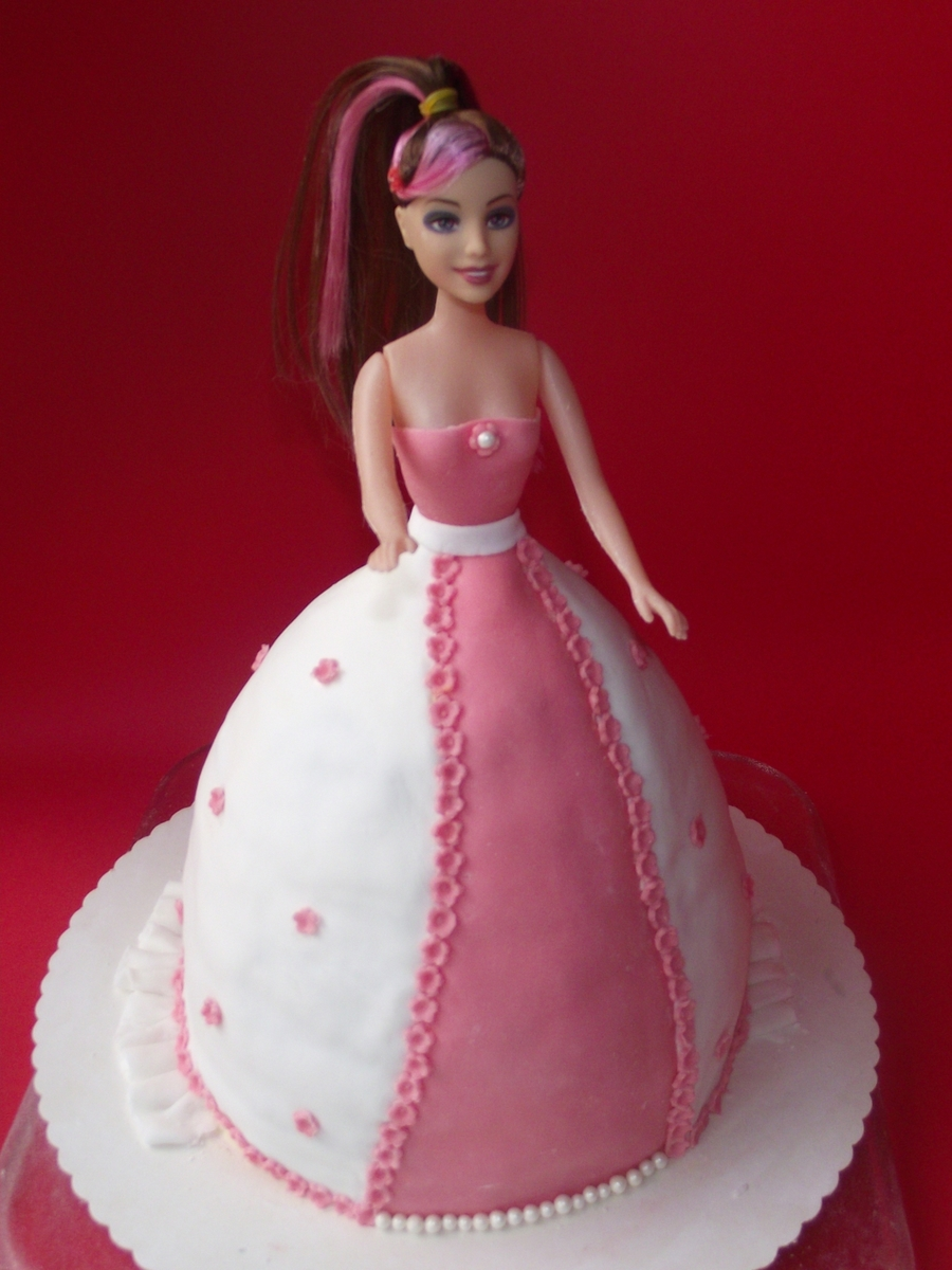 Barby Cake  on Cake Central