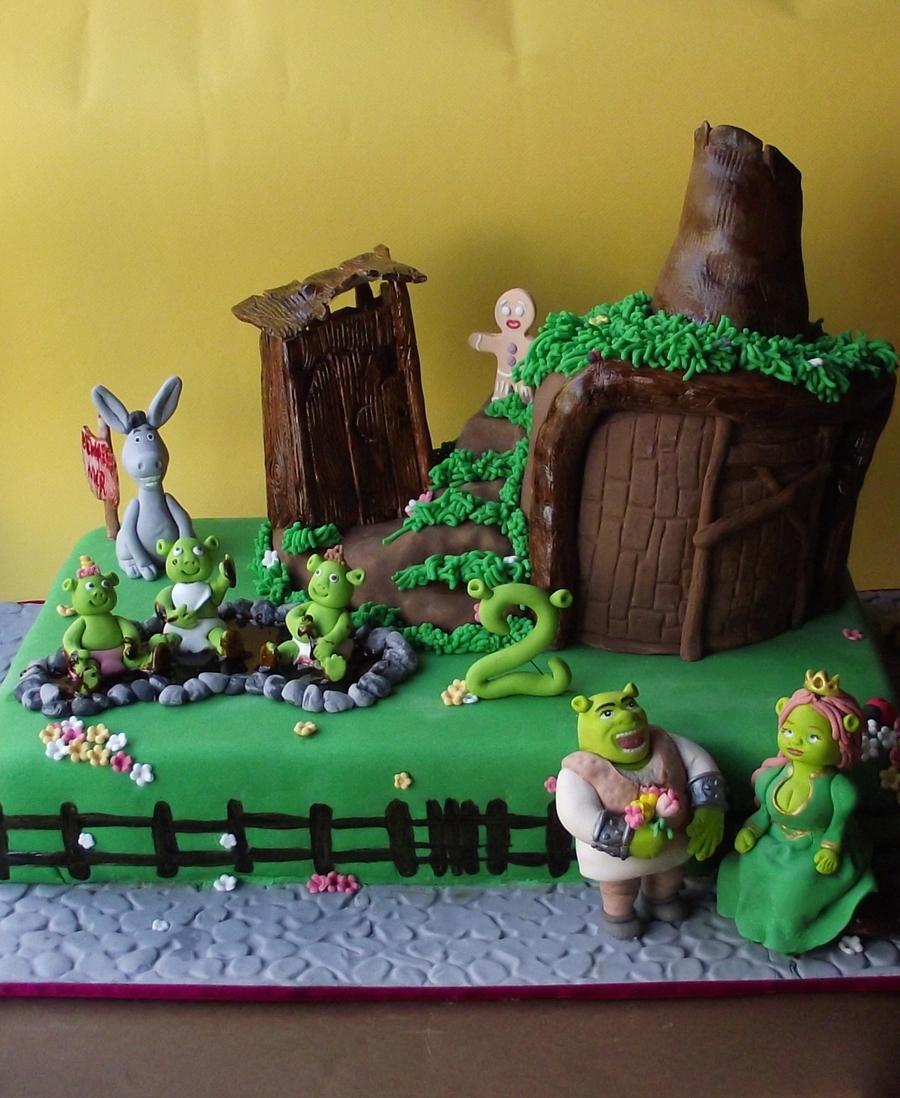Shrek House Cake Cakecentral Com