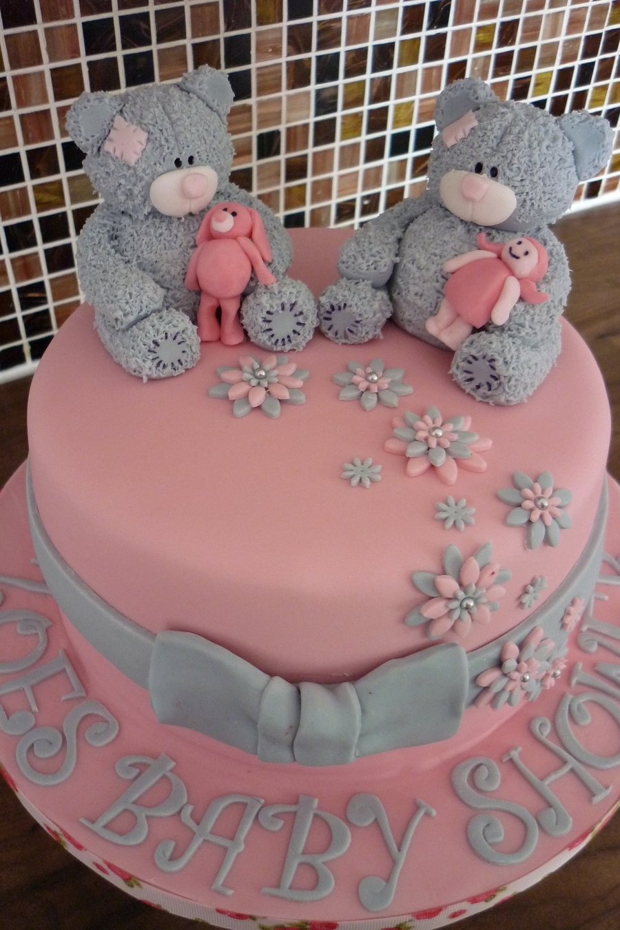 Tatty Teddy Cake Topper Tutorial