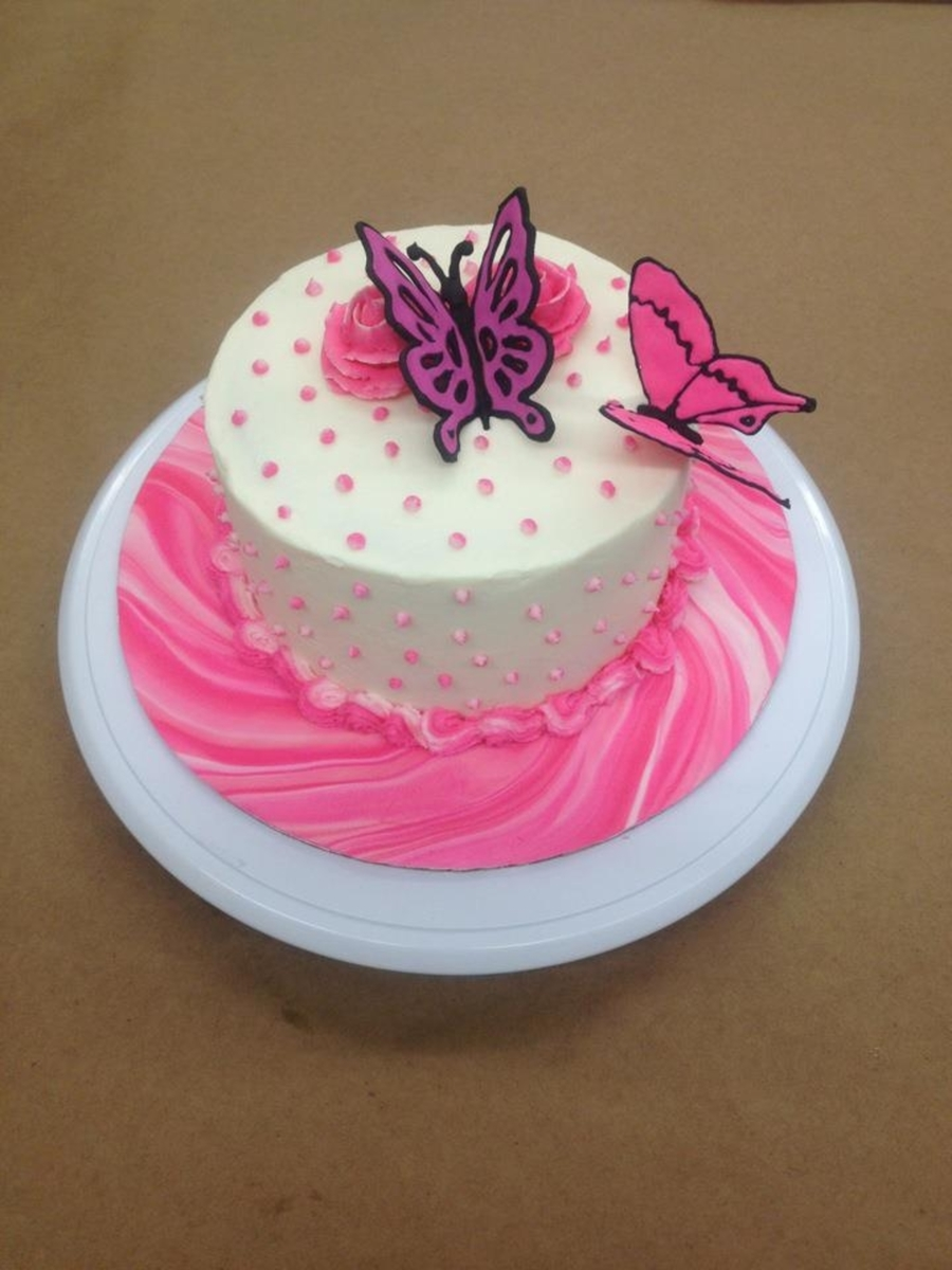 Royal Icing Butterfly's on Cake Central