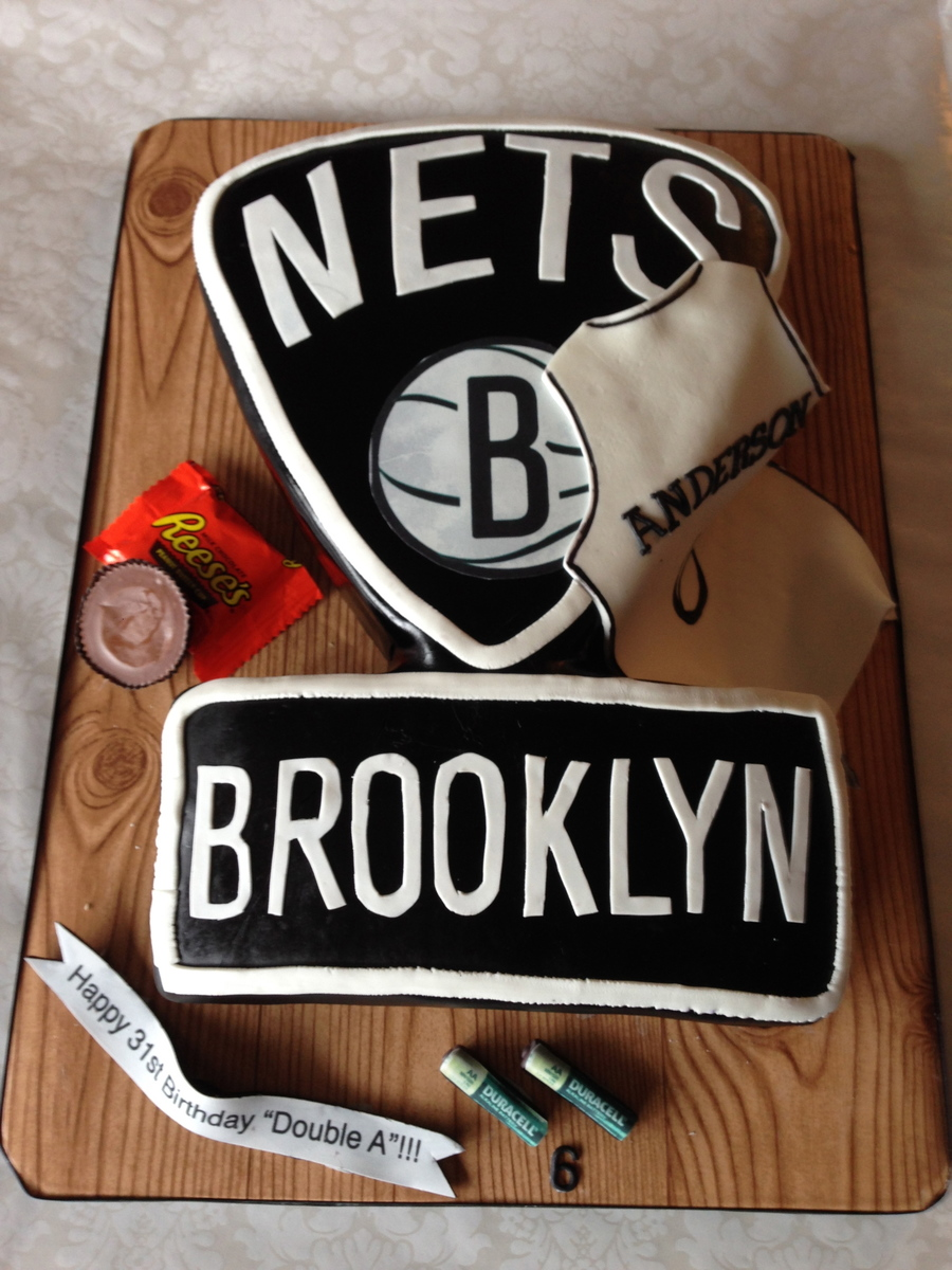 Birthday Cake For Alan Anderson Of The Brooklyn Nets!! on Cake Central