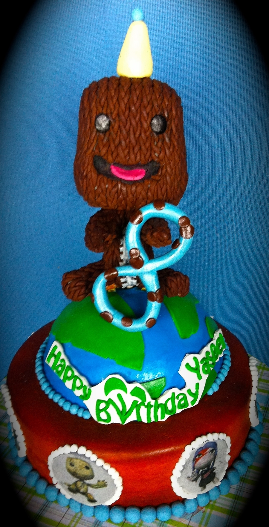 Stupendous Little Big Planet Cakecentral Com Birthday Cards Printable Riciscafe Filternl