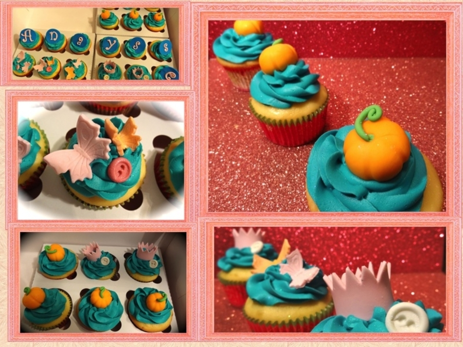 Cupcakes For Cinderella Party! on Cake Central