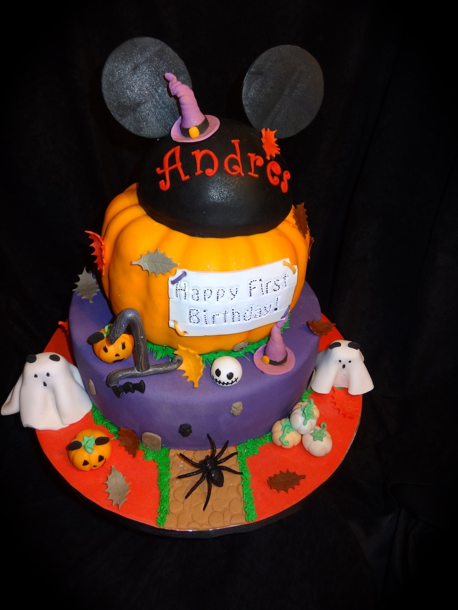 Mickey Mouse Halloween Cake Cakecentral