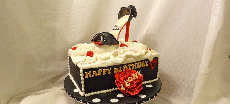 Christian Louboutin Birthday CakeCentralcom