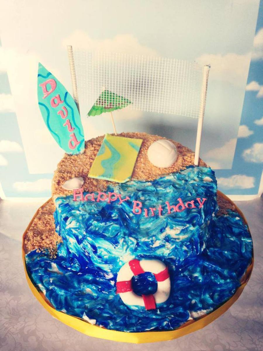 The Beach on Cake Central