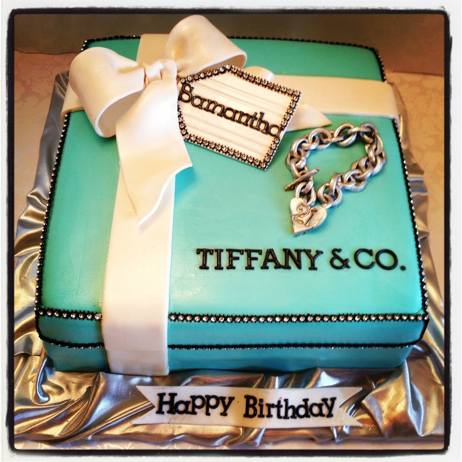 Tiffany & Co. on Cake Central