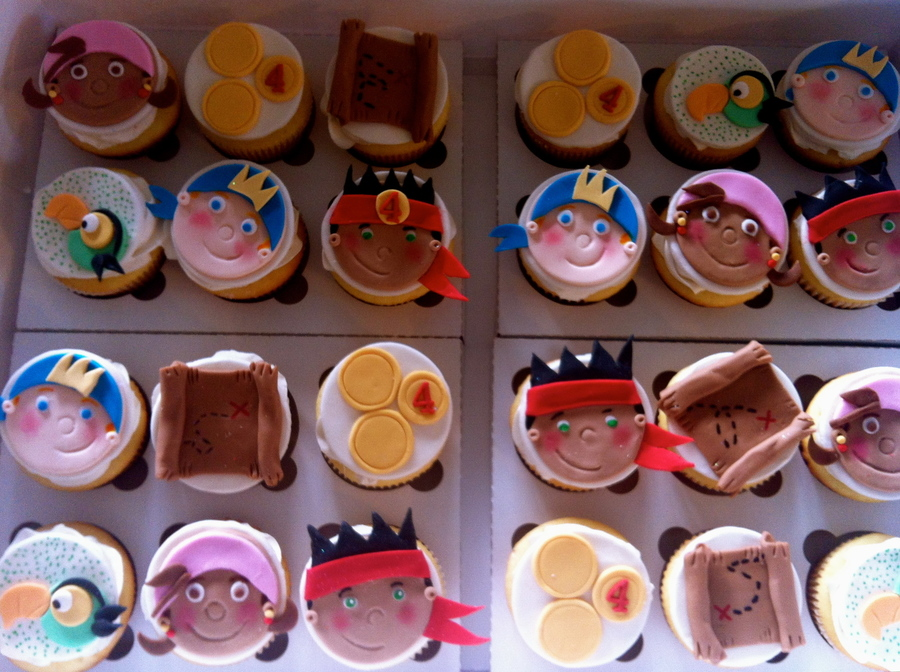 Jake & The Neverland Pirate Cupcakes on Cake Central